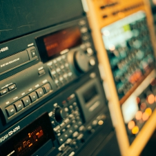 Mixing - Tascam DA45-HR, CD-A750, Sony MDS-E12, CDP-E11